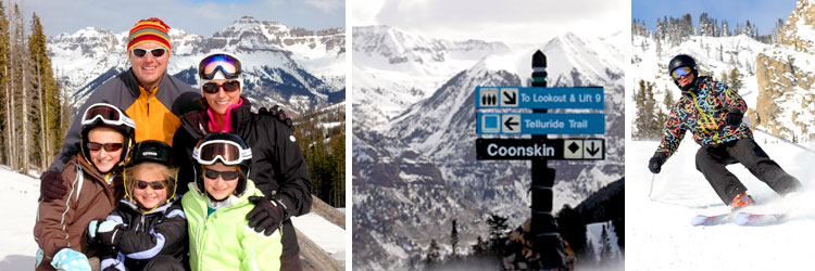 No Obligation Professional Portrait and Action Ski Photos at Telluride and Crested Butte Resorts