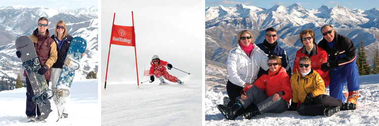 No Obligation Professional Portrait and Action Ski Photos at Crested Butte Resort